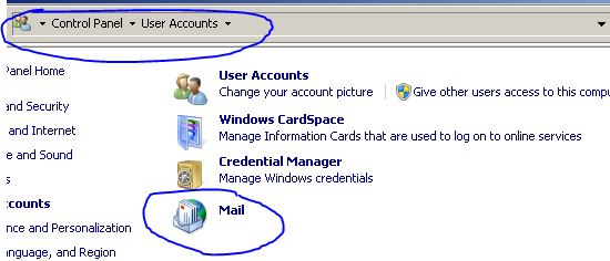 Create A Outlook 2007/2010 Profile Using Microsoft Office 365