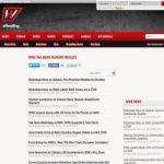 All Wrestling News List
