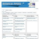 bulletin press Home
