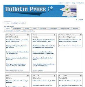 bulletin press Home