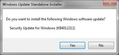 Install KB